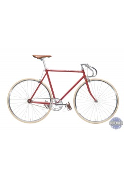 "Cheetah Prey 21"" Cherry Bicycle"