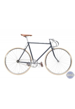 "Cheetah Prey 21"" Grey Bicycle"