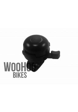 Dzwonek rowerowy Nuvo NH-833 Aluminiowy Czarny