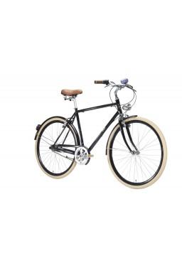 "Rower Van Gogh Paris 21"" Wolnobieg 3 Speed Czarny"