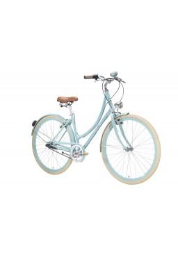 "Rower Van Gogh Paris 21"" Damka Wolnobieg 7 Speed Miętowy"