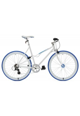 "Cheetah Ladies 21"" 7 Speed Blue Bicycle"