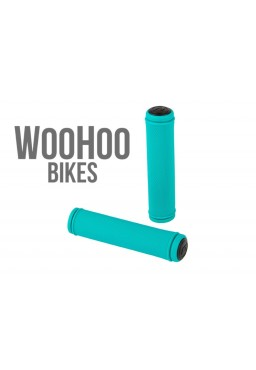 ACCENT Orion Handlebar Grips Turquoise 130mm