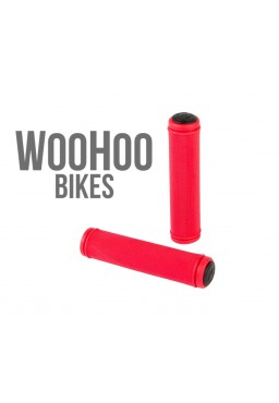 ACCENT Orion Handlebar Grips Red 100mm