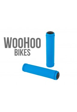 ACCENT Orion Handlebar Grips Blue 100mm