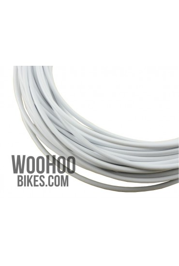 ALHONGA Brake Cable Housing Teflon White
