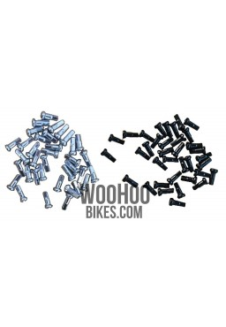 SLE Spokes Nipples Steel 16mm x 36 pcs.
