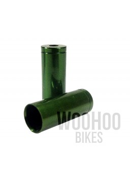 Prox Lined Ferrule, Brake Cable Ends Green x 2