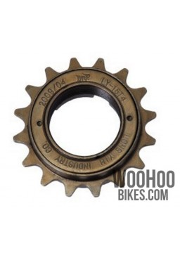 "DnP LY-16T4 Single Speed Freewheel 16T wide 1/2x1/8"" Bronze"