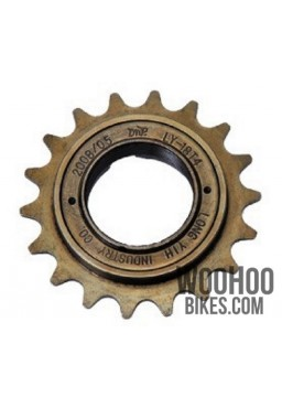 "DnP LY-18T4 Single Speed Freewheel DnP 18T wide 1/2x1/8"" Bronze"