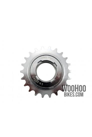 """Freewheel Single Speed DnP 22T wide 1/2x1/8"""" Silver"""