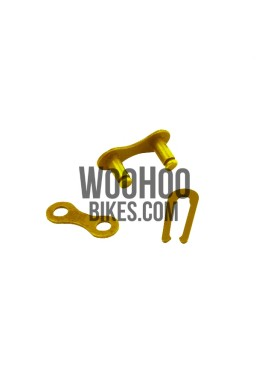 "Chain connector for 1/2""x1/8"" Chain Gold, Connect Link for Single Speed, Fixed Gear Bike"
