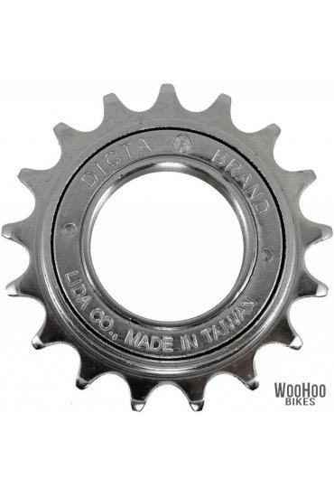 "Dicta 16T Single Speed Freewheel 1/2"" x 1/8"" Wide - Silver"