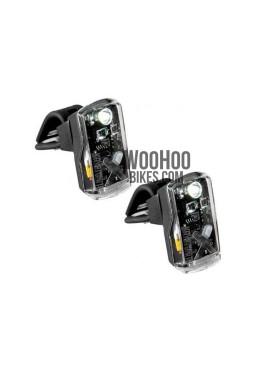 Zestaw Lampek Rowerowych KRYPTONITE Avenue F-50 & R-14 Dual LED