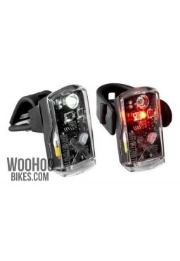 Bicycle Lights Set KRYPTONITE Avenue F-50 & R-14 LED