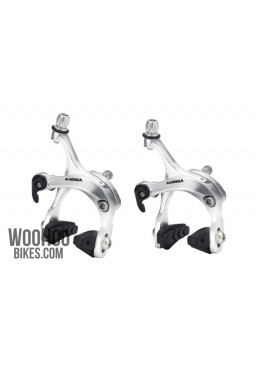 ALHONGA HJ-422ADQ Road, Fixie Bike Brake Set Calipers - Silver