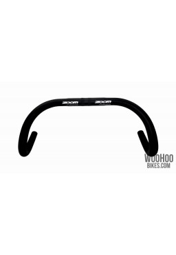 ZOOM DR-AL-130 Alloy Handlebar, 420 x 25.4mm, Fixed Gear Track Road Bicycles, Black