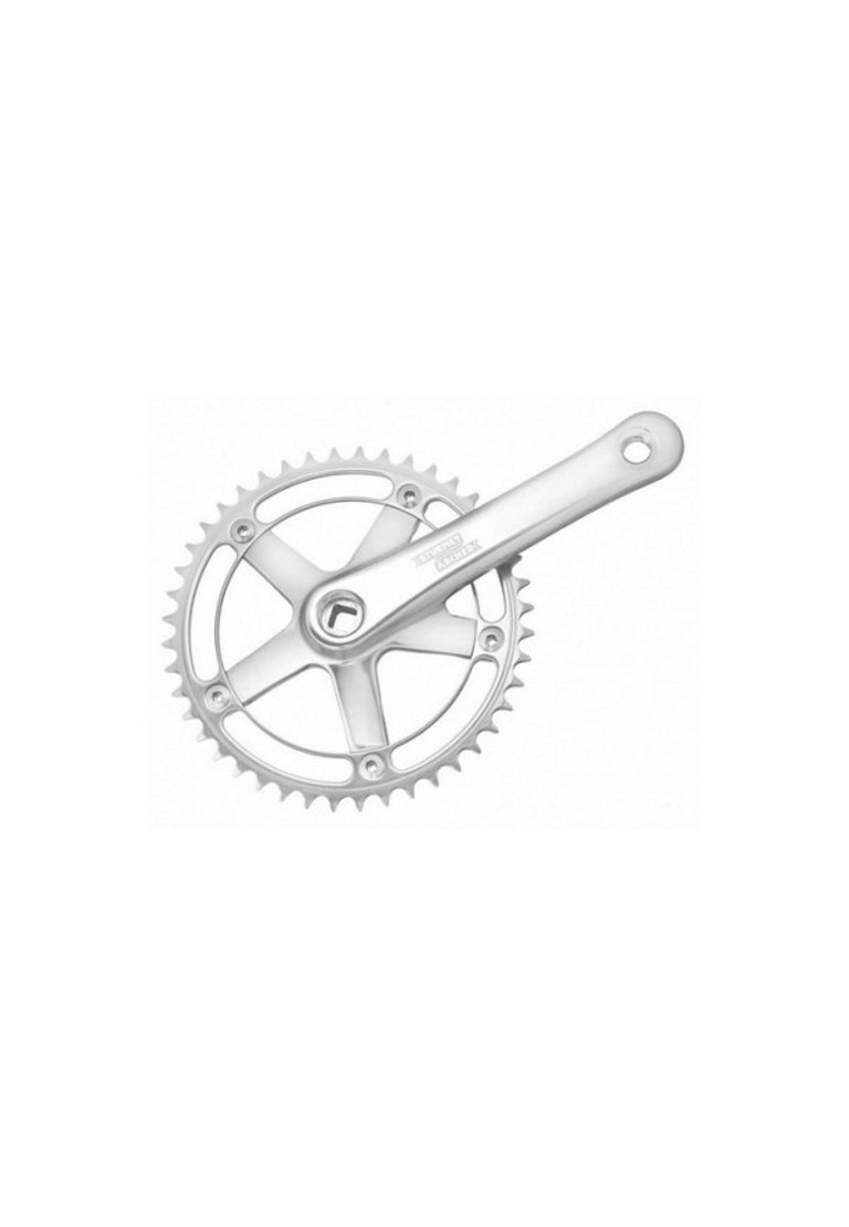 Fixed gear Single Speed Track Cranks Crankset 170mm 44t Black//Silver