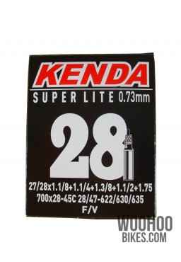 KENDA Inner Tube 27/28'' 700x28-45C FV 33mm SUPER LITE