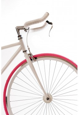 Kenda KAMPAIGN 700 x 23C Fixed Gear Tire Pink