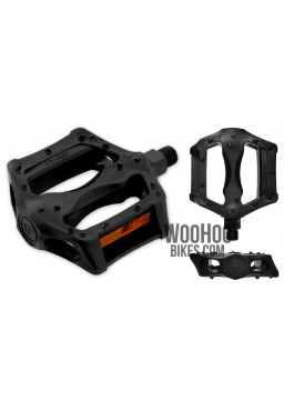 VP-Components VP-560 Plastic Platform Bicycle Black Pedals