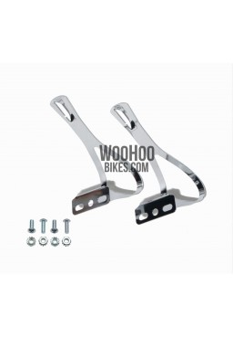 Road Racing Bike Pair of Steel Clips