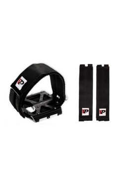 VP-730 Bicycle Pedal Straps, Fix, Black