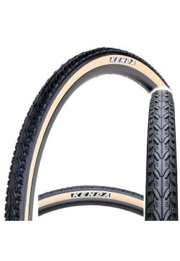 Kenda KHAN K935 700x35C Bicycle Tire, Black & Beige Side Wall