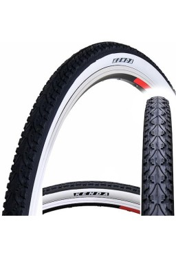 Kenda KHAN K935 700x35C Bicycle Tire, Black & White Side Wall