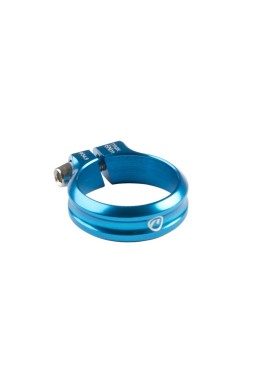 Accent Execute Seat Post Clamp 34.9mm Anodized Blue
