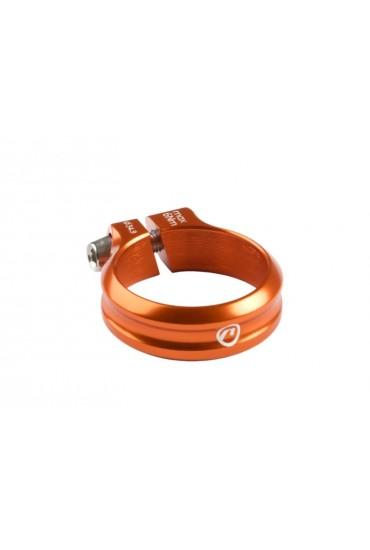 Accent Execute Seatpost Clamp 34.9mm Anodized Orange
