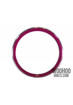 "Rim 28"" 700C 36H 43mm Fixed Gear Road Purple"