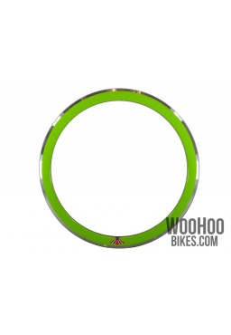 "Rim 28"" 700C 32H 43mm Fixed Gear Road Green"