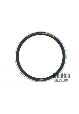 "Rim 28"" 700C 36H 43mm Fixed Gear Road Black"