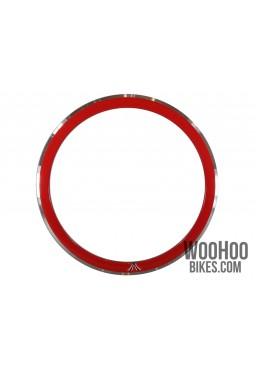 Obręcz 28'' 700C 43mm Ostre Koło, Fix Czerwona 36H