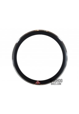 "Rim 28"" 700C 36H 50mm Fixed Gear Black"
