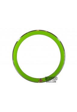 Obręcz 28'' 700C Wysoka 50mm Ostre Koło Zielona