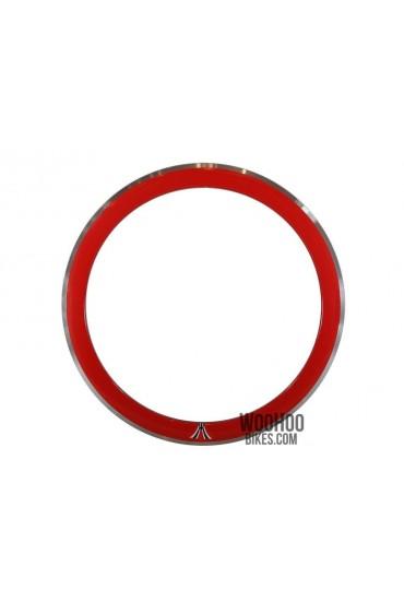 Obręcz 28'' 700C Wysoka 50mm Ostre Koło Czerwona