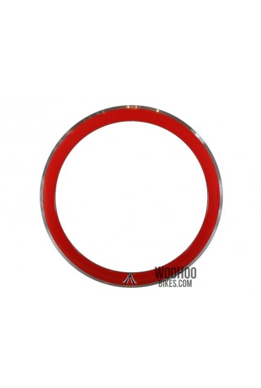 "Rim 28"" 700C 36H 50mm Fixed Gear Red"