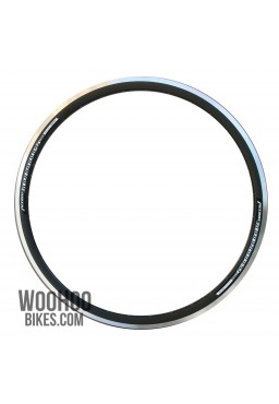 Accent Roadrunner 36H Black Rim for Road, Fixed Gear Bicycle