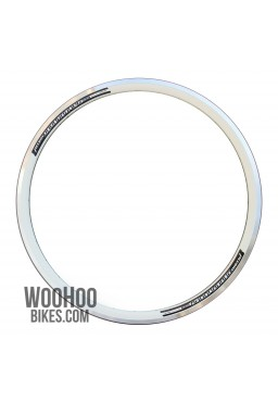 Accent Roadrunner 36H White Rim for Road, Fixed Gear Bicycle