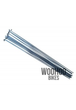 Pillar 260mm Stainless Steel Spokes, Silver 18pcs.