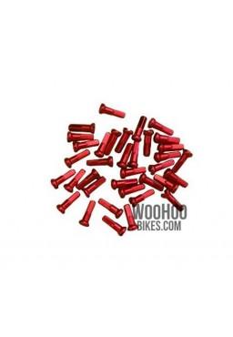 Nyple cnSPOKE Aluminiowe 14mm x 36 szt. Czerwone