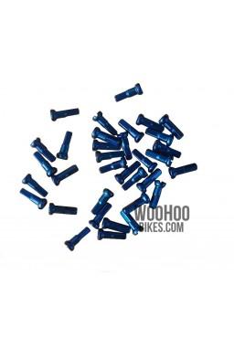 Nyple cnSPOKE Aluminiowe 14mm x 36 szt. Niebieskie