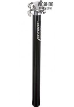 ACCENT SP-408 Bicycle Seatpost 29.4mm Black