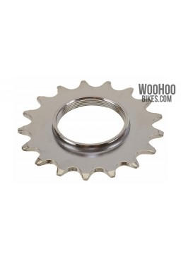 "JOYTECH Track Hub Cog 18T for 1/2 x 1/8"" Wide Chain Fixed Gear Silver"