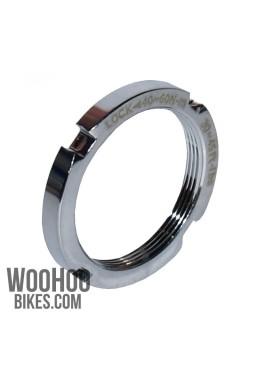 NOVATEC Hub Lockring, Fixed Gear, Track, Silver