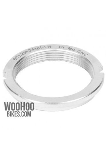 Dia-Compe Hub Lockring, Fixed Gear Silver