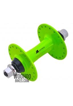 JOYTECH Front Hub, Fixed Gear, Road Bike, Track 36H Green