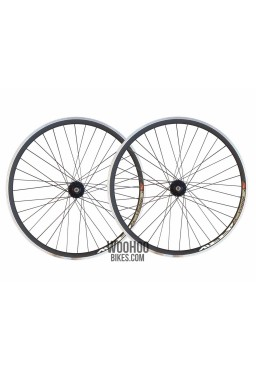 JOYTECH 30mm Wheelset Fixed Gear,Fix Black